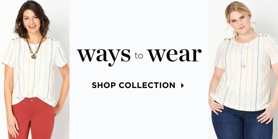 Ways-to-Wear. Shop Collection