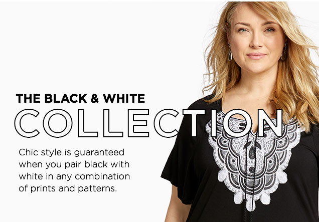 the black and white collection